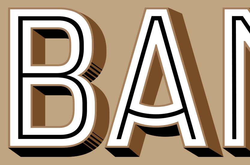Jeu typographique Banette