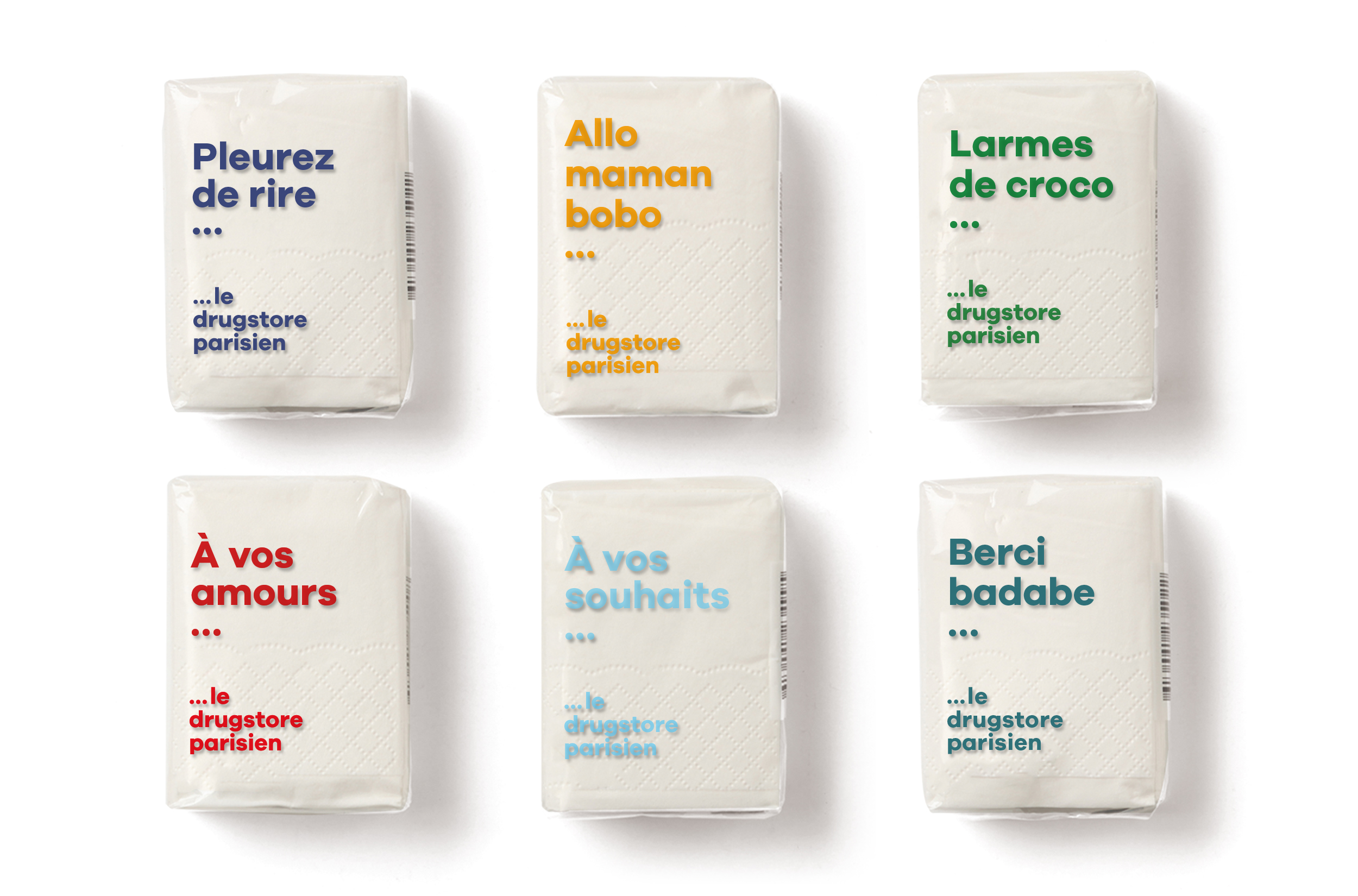 300 packagings à la marque Drugstore - 1