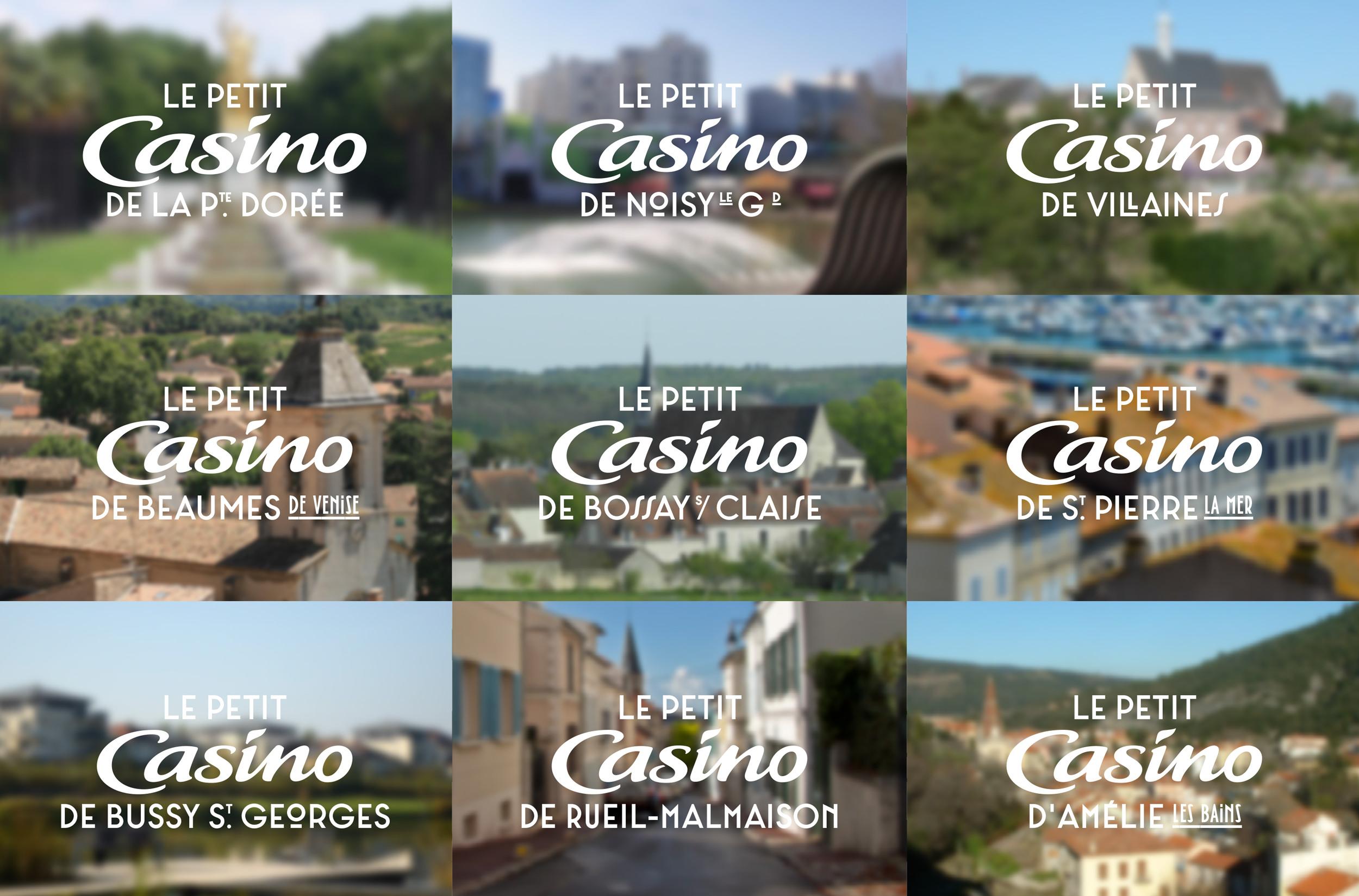 Typographie Le Petit Casino - 1