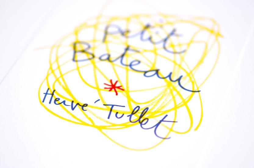 Hervé Tullet x Petit Bateau
